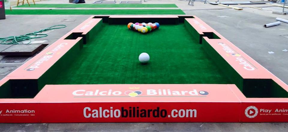 calcio biliardo play animation